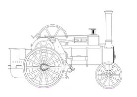 1.5 INCH ALLCHIN TRACTION ENGINE (DUE  MAY/JUNE) £200 deposit